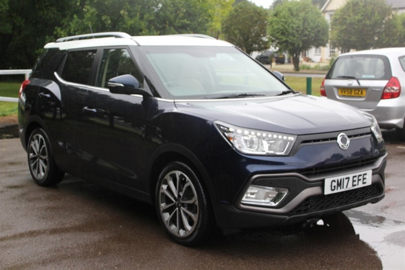 used Ssangyong Tivoli XLV 1.6D ELX AUTO STYLE PACK in virginia-water