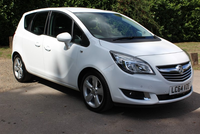 used Vauxhall Meriva 1.4 TECH LINE in virginia-water