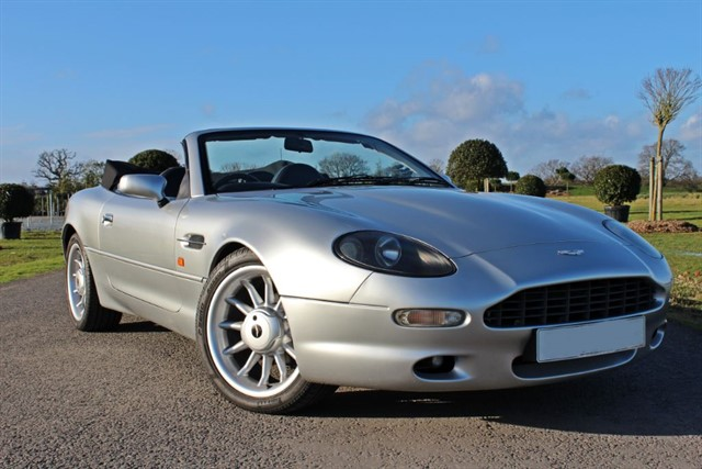 used Aston Martin DB7 i6 VOLANTE ALFRED DUNHILL in west-sussex