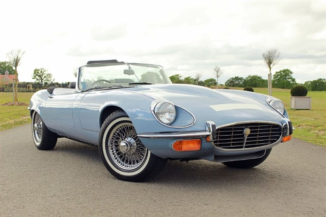 used Jaguar E-Type Series 3 V12 Roadster in west-sussex