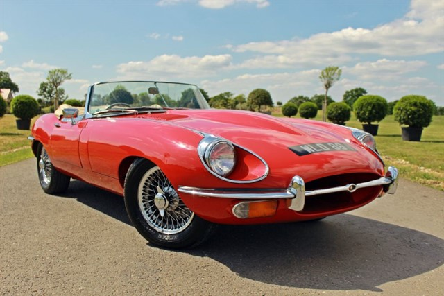 used Jaguar E-Type 4.2 Series 2 4.2 Roadster in west-sussex
