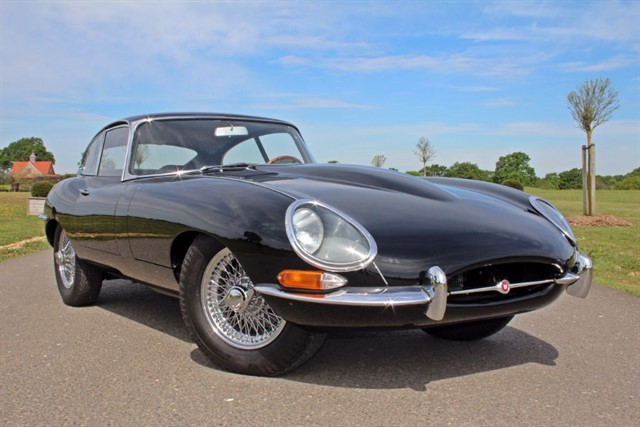 used Jaguar E-Type Series 1 FHC in west-sussex