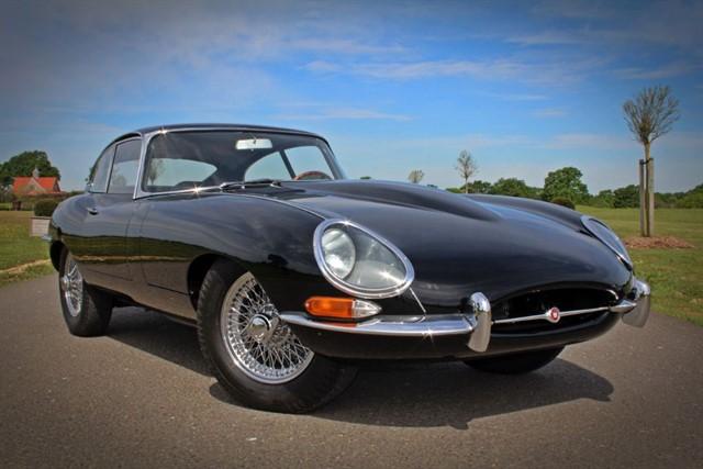 used Jaguar E-Type Series 1 FHC in west-sussex