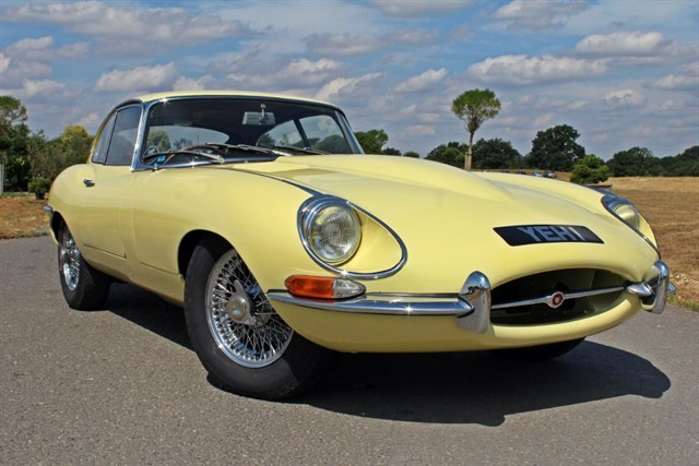 used Jaguar E-Type Series 1.5 Fixed Head Coupe in west-sussex