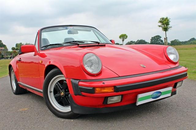used Porsche 911 CARRERA CABRIOLET in west-sussex