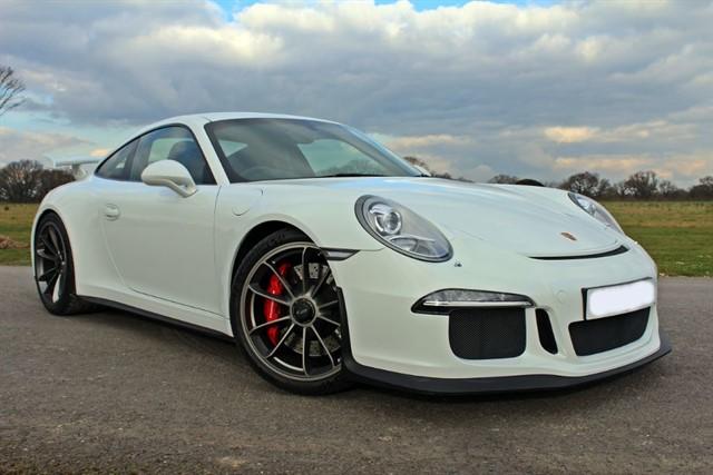 used Porsche 911 GT3 991 PDK in west-sussex