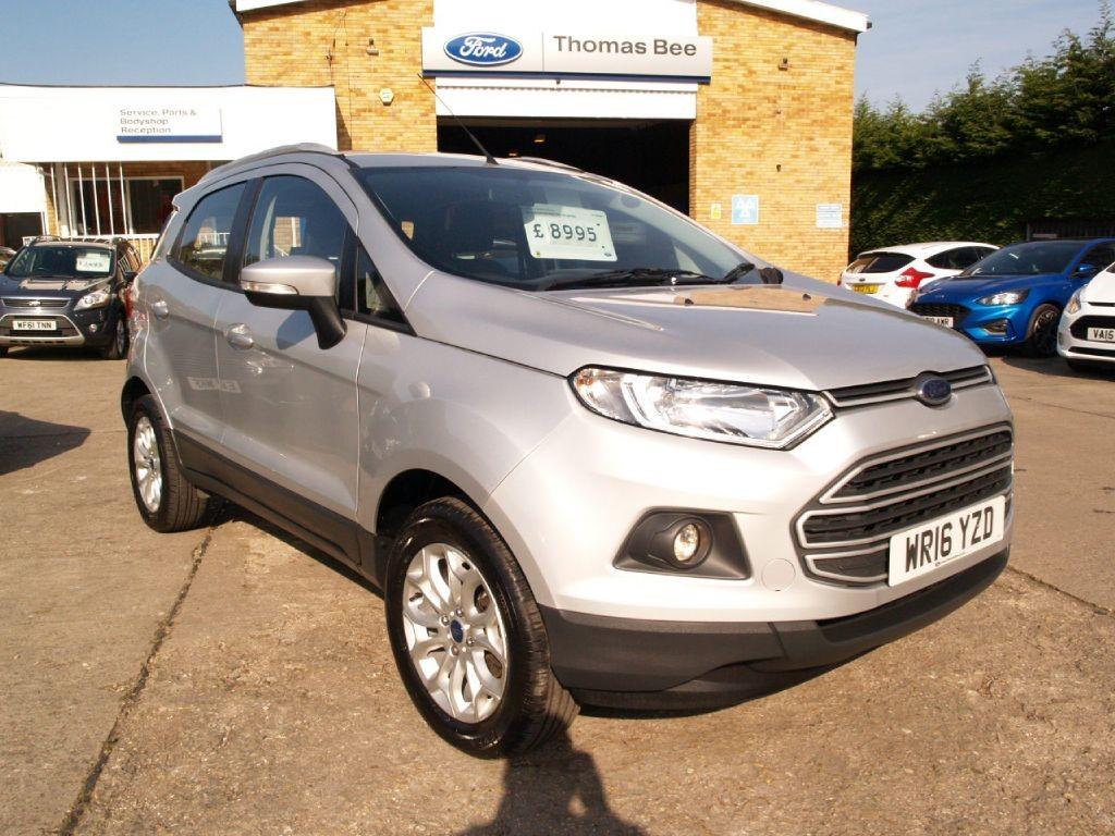 moondust silver ford ecosport  sale gloucestershire