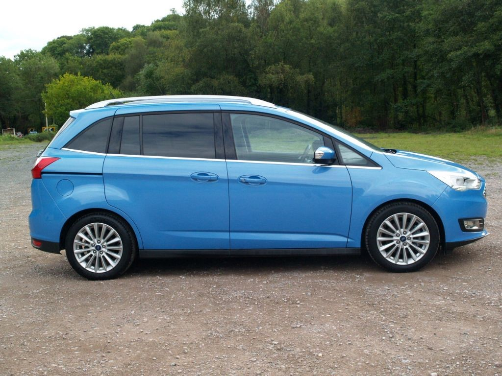 used iceberg blue ford grand c max for sale gloucestershire. Black Bedroom Furniture Sets. Home Design Ideas