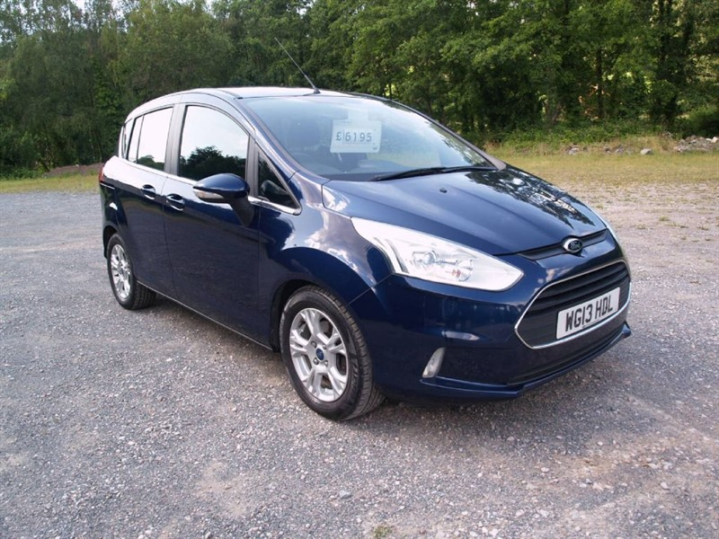 used Ford B-Max ZETEC TDCI in lydney