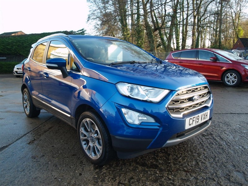 used Ford EcoSport TITANIUM in lydney