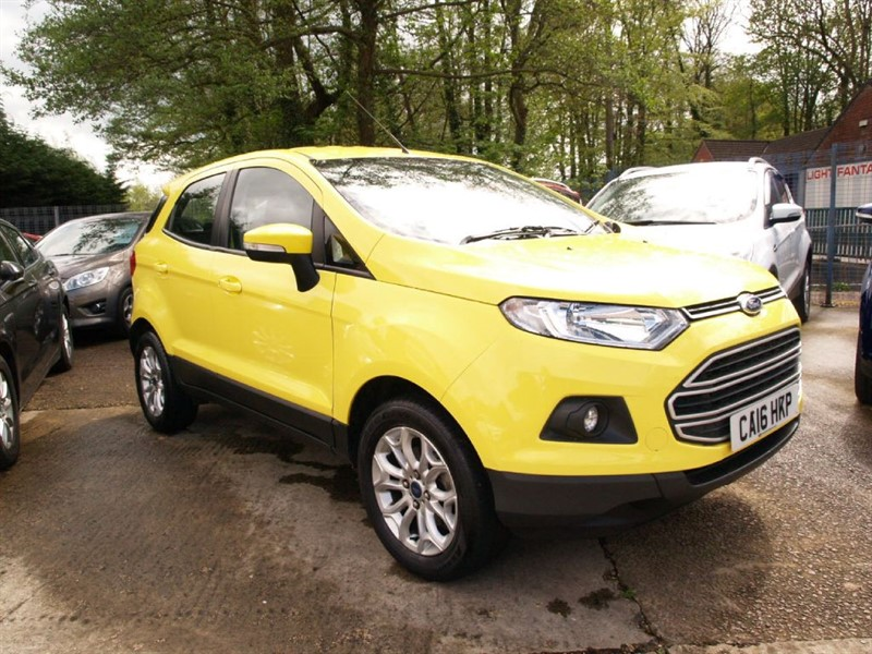 used Ford EcoSport ZETEC in lydney
