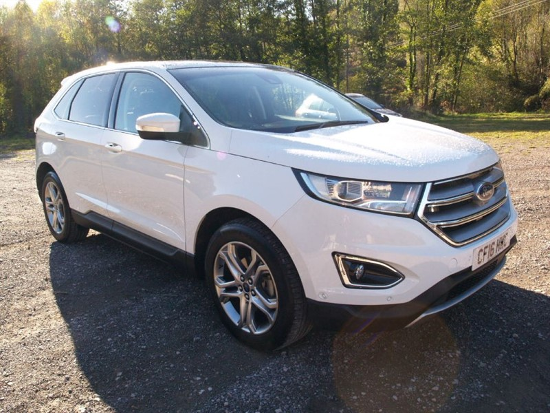 used Ford Edge TITANIUM (LUX PACK) in lydney