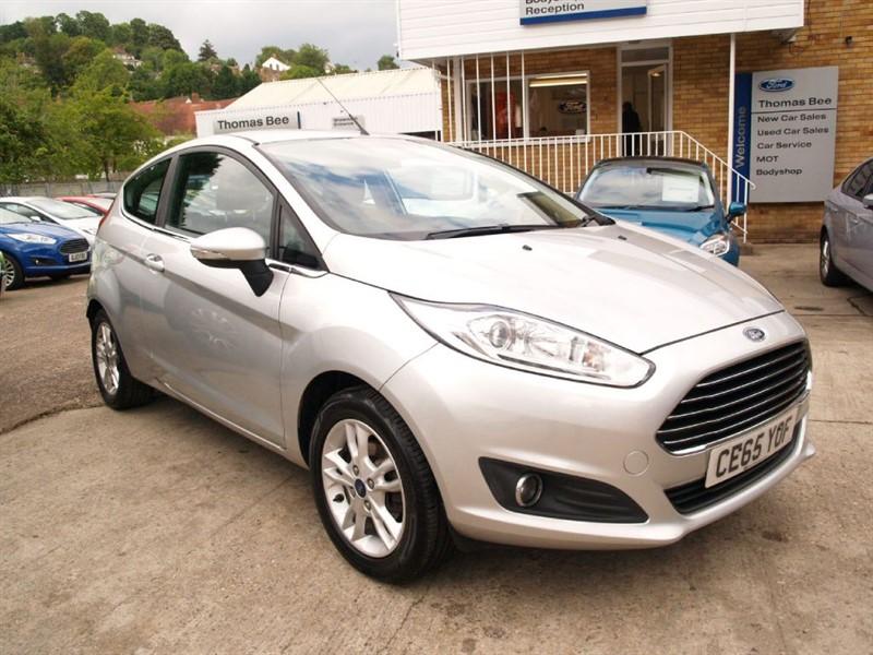used Ford Fiesta ZETEC in lydney