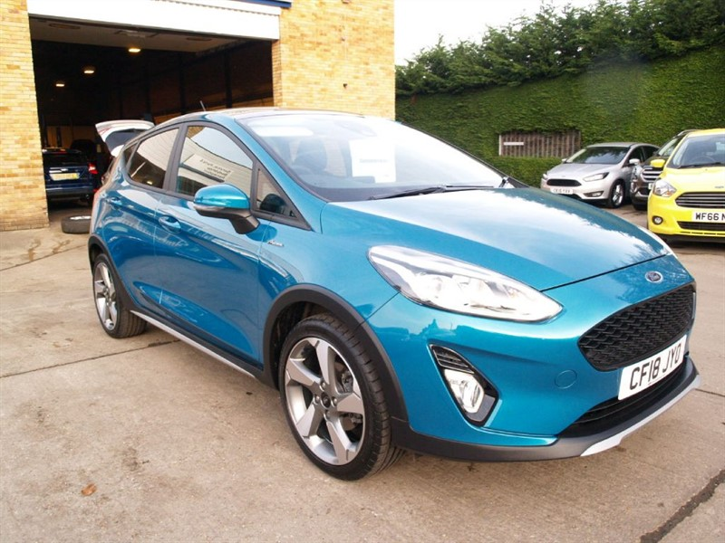 used Ford Fiesta ACTIVE X in lydney
