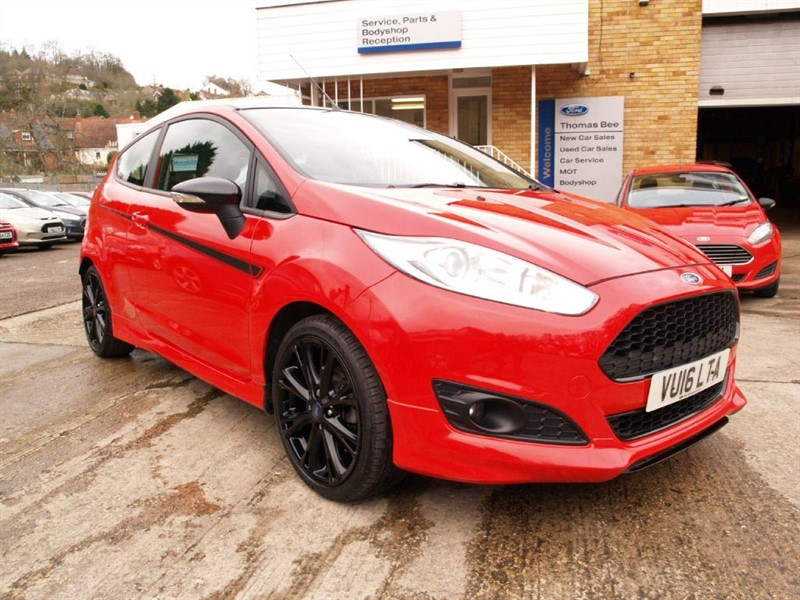 used Ford Fiesta Zetec red/black edtion in lydney