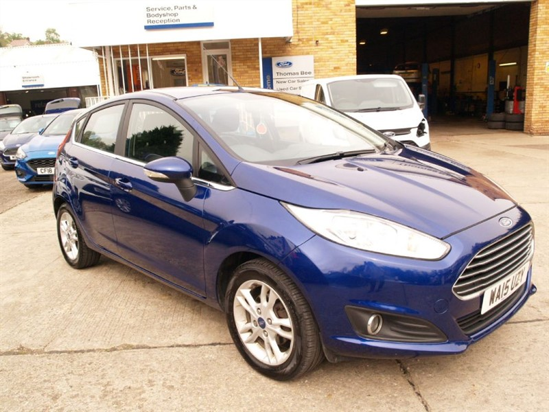 used Ford Fiesta ZETEC in lydney