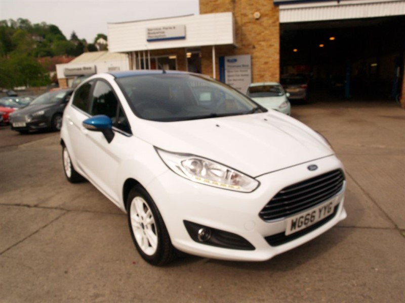 used Ford Fiesta ZETEC WHITE EDITION SPRING in lydney