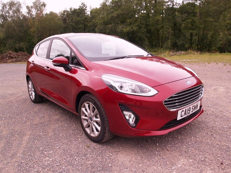 used Ford Fiesta TITANIUM X in lydney