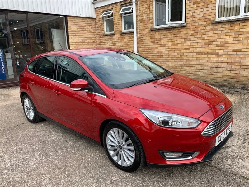 used Ford Focus TITANIUM X in lydney
