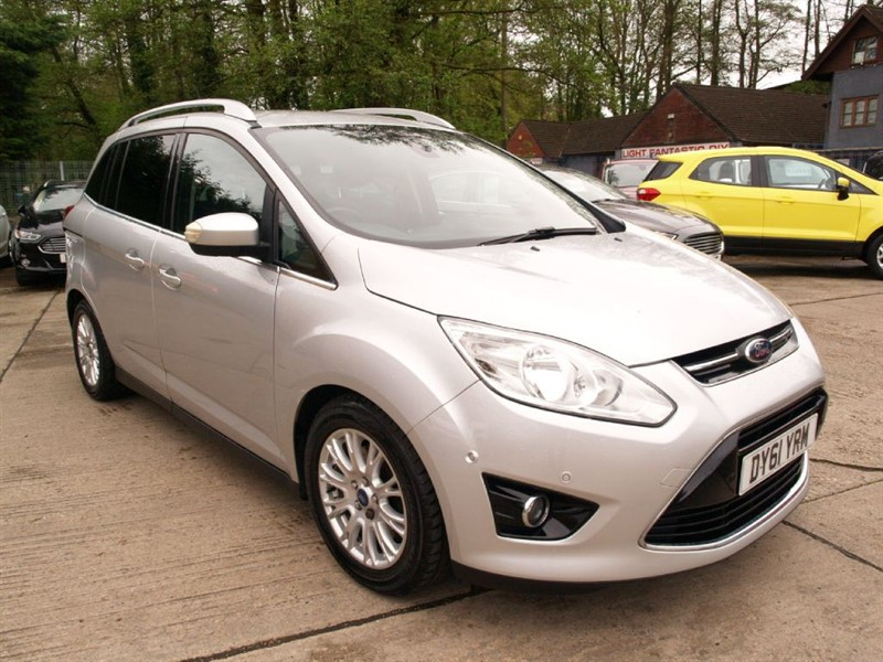 used Ford Grand C-Max TITANIUM TDCI in lydney