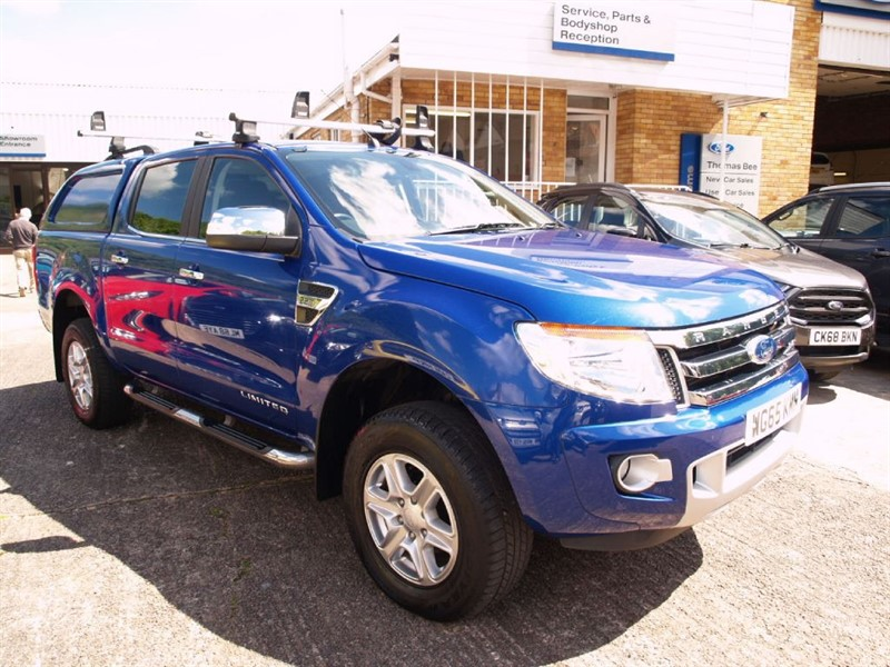 used Ford Ranger LIMITED 4X4 DCB TDCI in lydney
