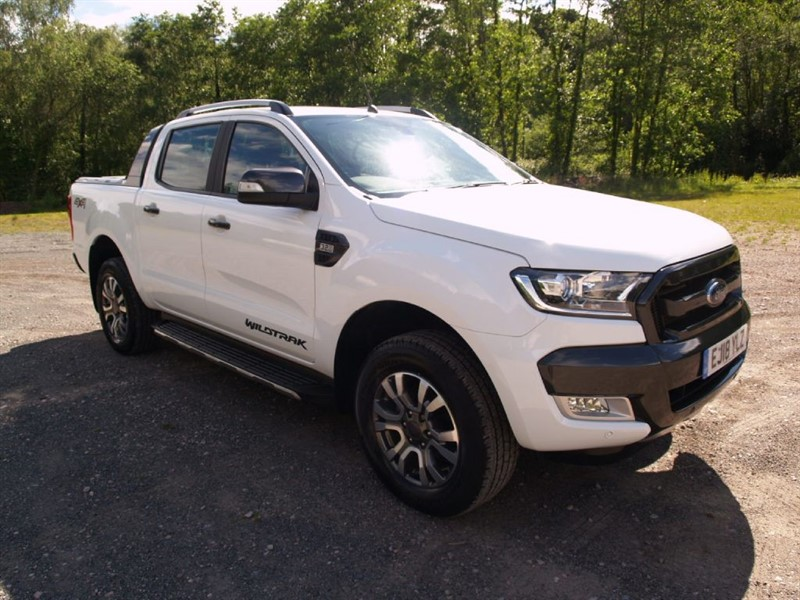 used Ford Ranger WILDTRAK 4X4 DCB TDCI in lydney