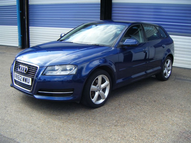 used Audi A3 SPORTBACK MPI TECHNIK in surrey