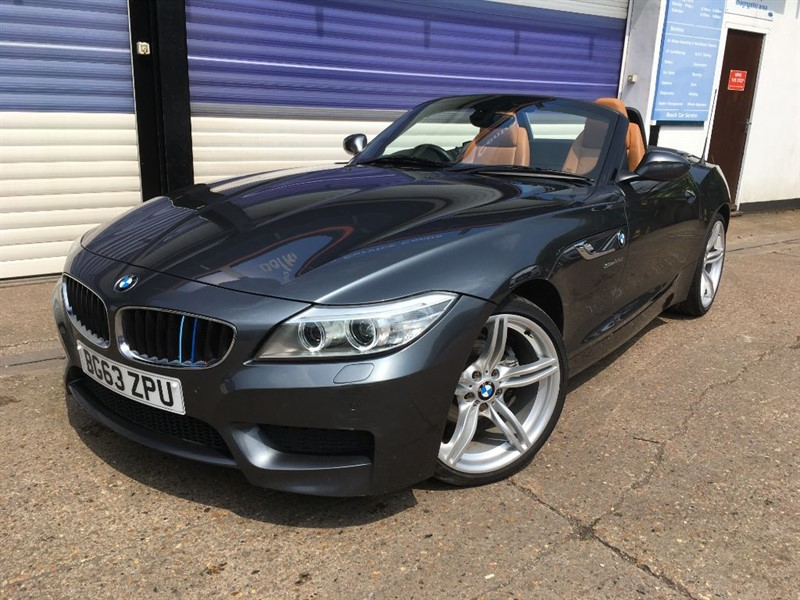 used BMW Z4 SDRIVE20I M SPORT ROADSTER in surrey