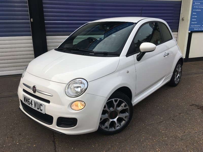 used Fiat 500 S in surrey