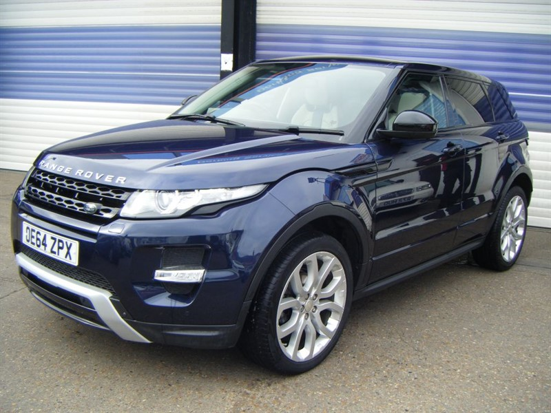 used Land Rover Range Rover Evoque SD4 DYNAMIC LUX in surrey