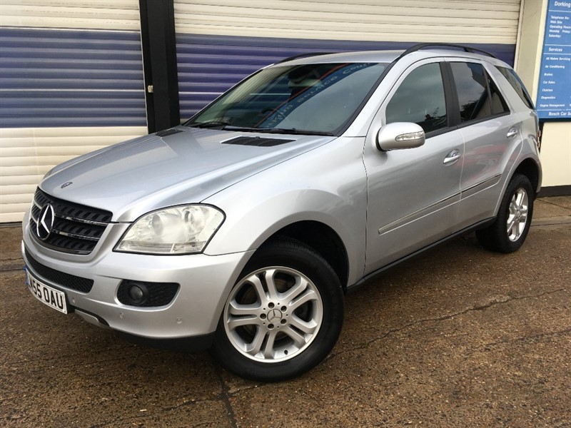 used Mercedes 320 ML  CDI SE in surrey