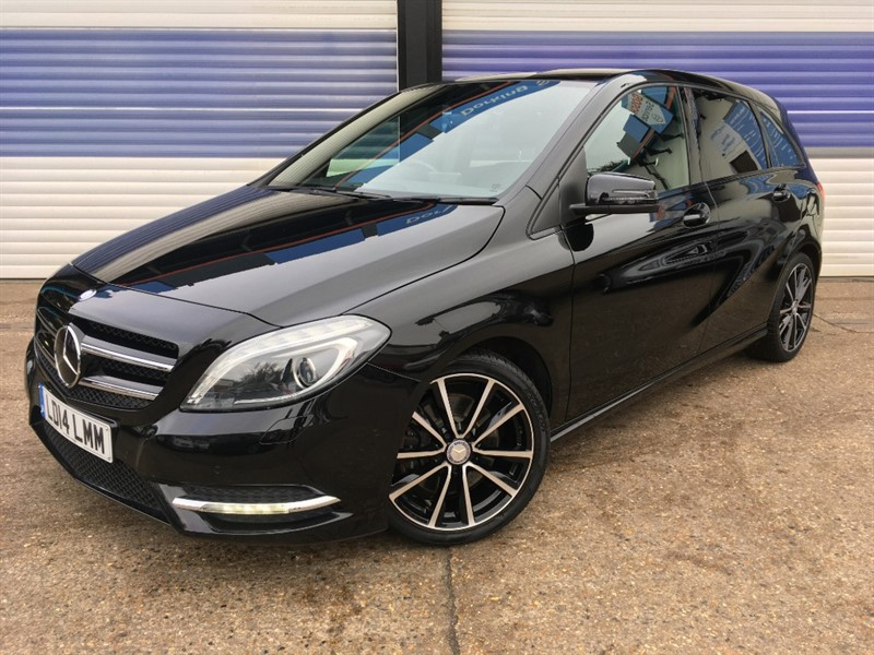 used Mercedes B220 SPORT 4MATIC in surrey