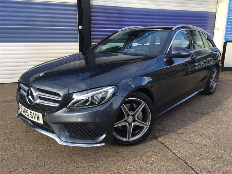 used Mercedes C200 AMG LINE in surrey