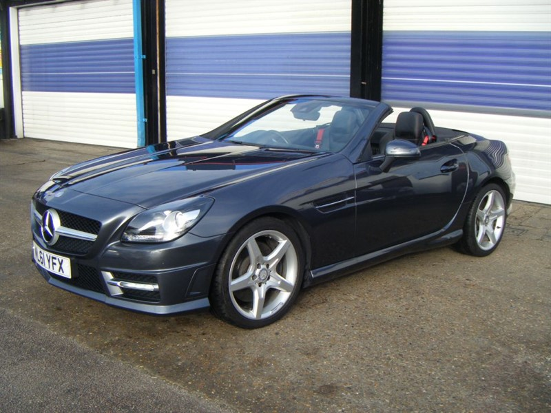 used Mercedes SLK SLK200 BLUEEFFICIENCY AMG SPORT ED125 in surrey