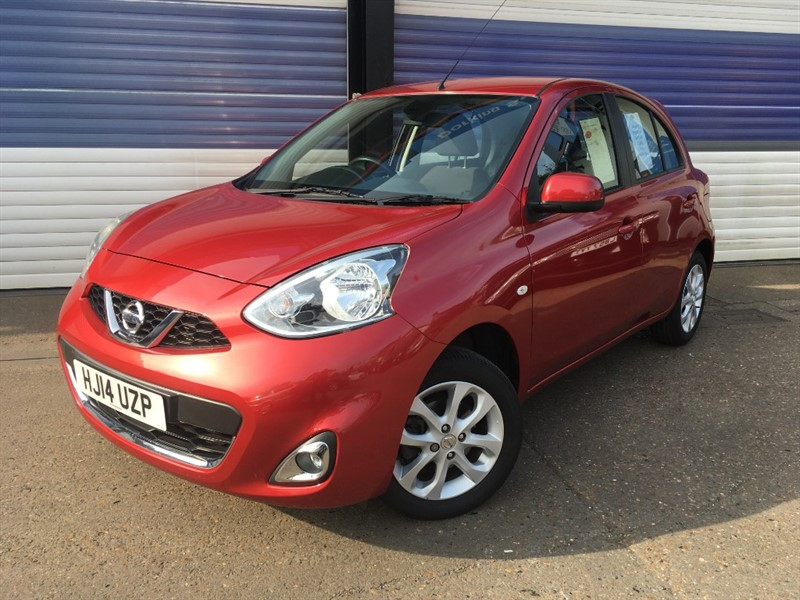 used Nissan Micra ACENTA in surrey