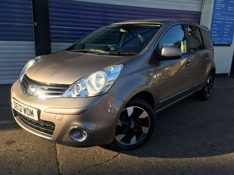 used Nissan Note N-TEC PLUS in surrey