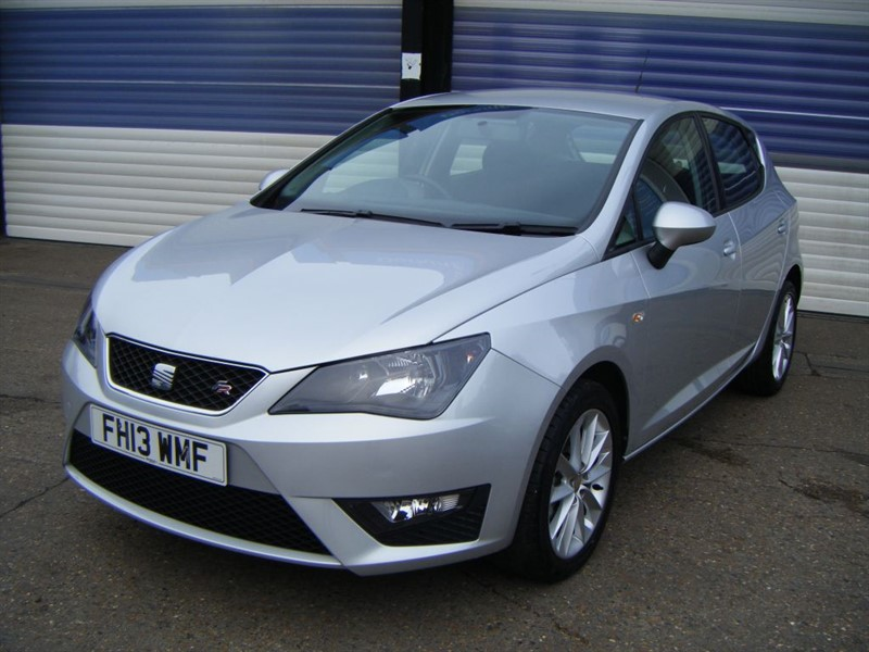 used SEAT Ibiza CR TDI FR in surrey