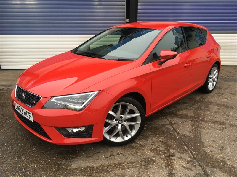 used SEAT Leon TSI FR TECHNOLOGY in surrey