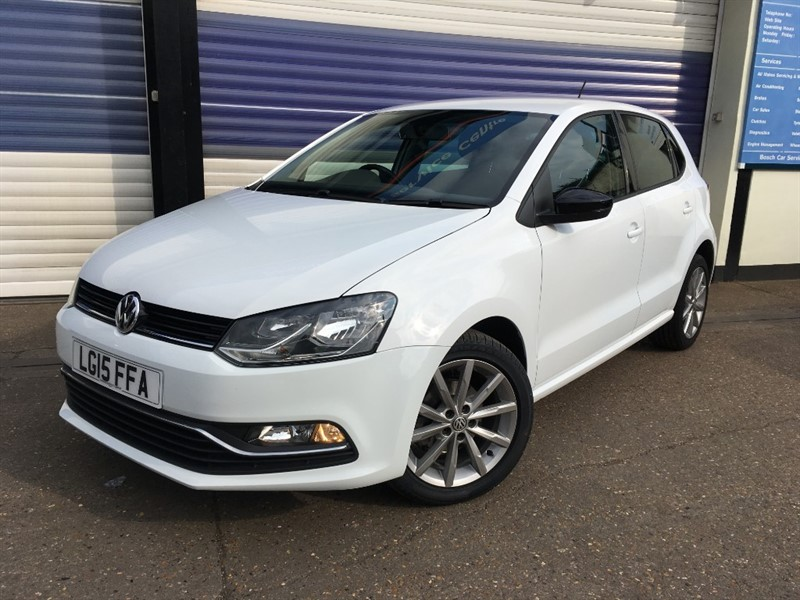 used VW Polo SE DESIGN TSI in surrey