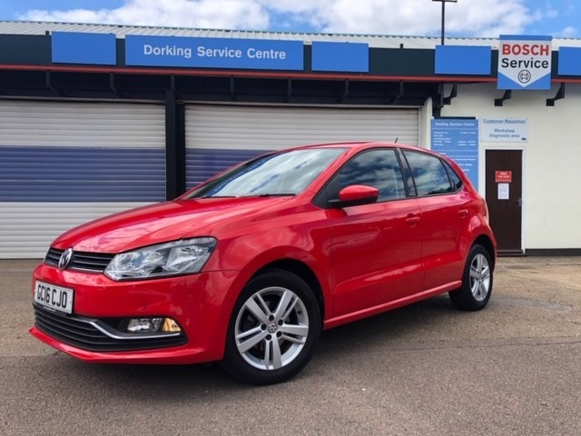 used VW Polo MATCH in surrey