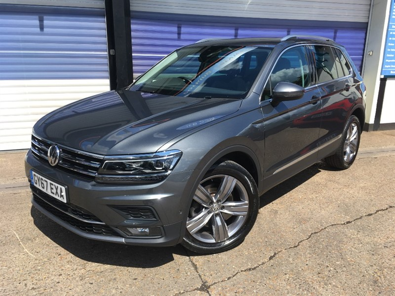 used VW Tiguan SEL TSI BMT 4MOTION DSG in surrey