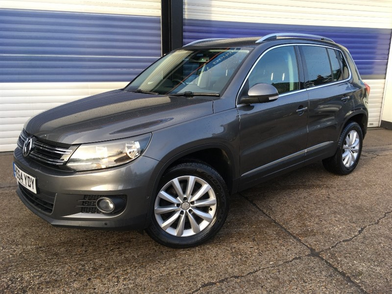 used VW Tiguan MATCH TDI BLUEMOTION TECHNOLOGY 4MOTION in surrey