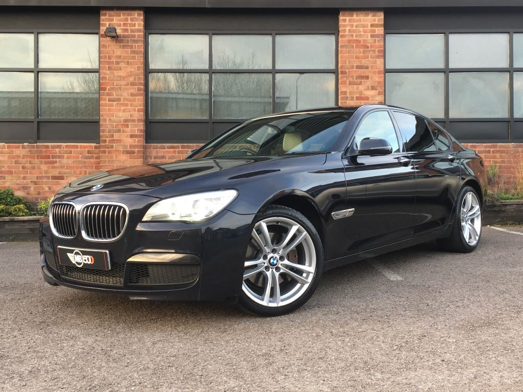 used black bmw 730d for sale leicestershire. Black Bedroom Furniture Sets. Home Design Ideas
