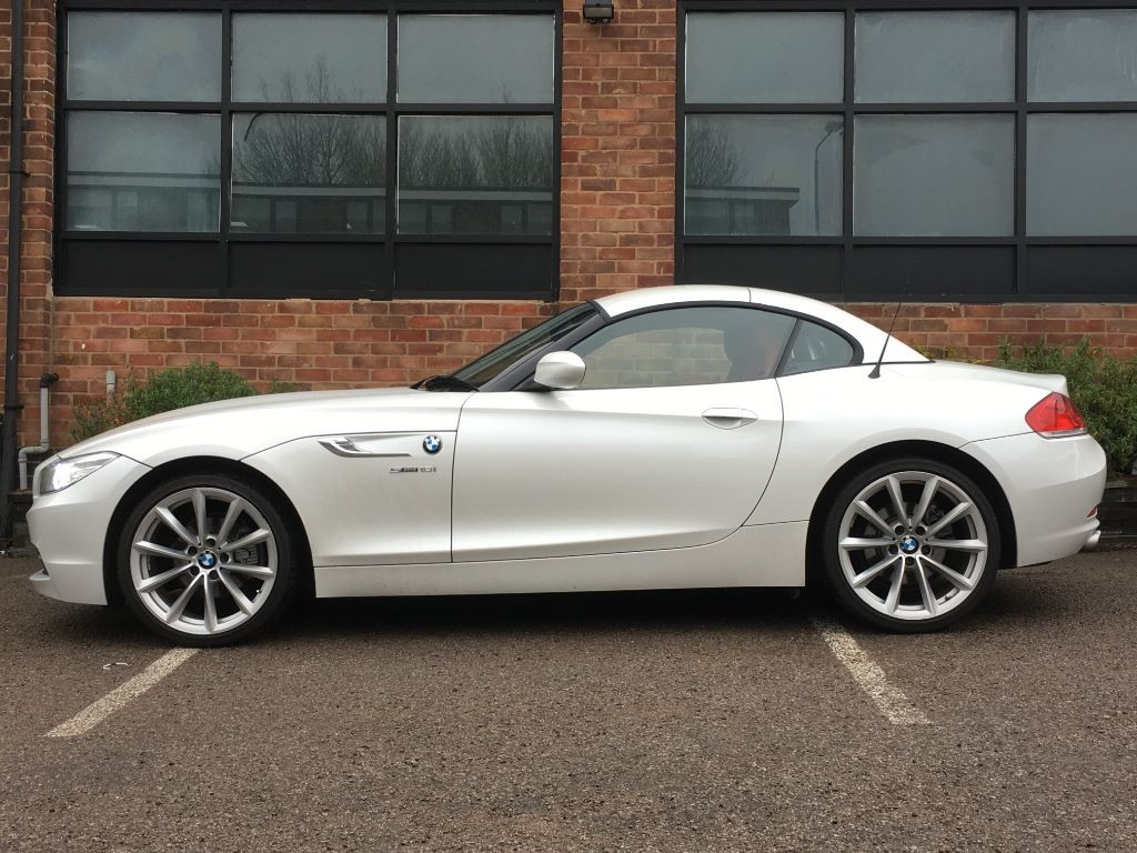 Used White Bmw Z4 For Sale Leicestershire