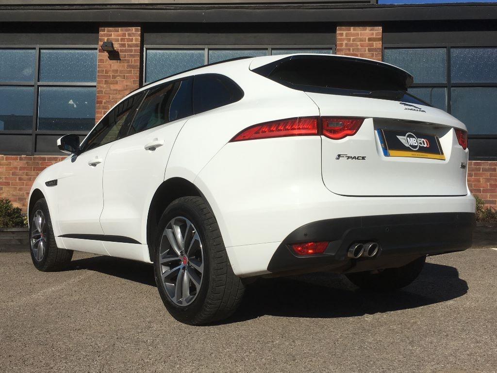 used white jaguar f-pace for sale | leicestershire