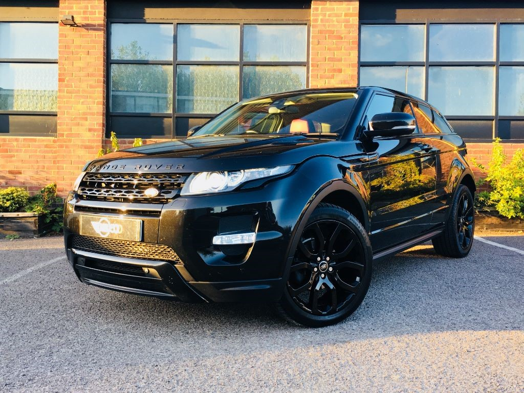Used Black Land Rover Range Evoque For Sale Leicestershire 4 6 Engine No Photos Available
