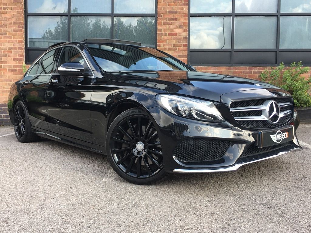 Used Black Mercedes C250 For Sale | Leicestershire