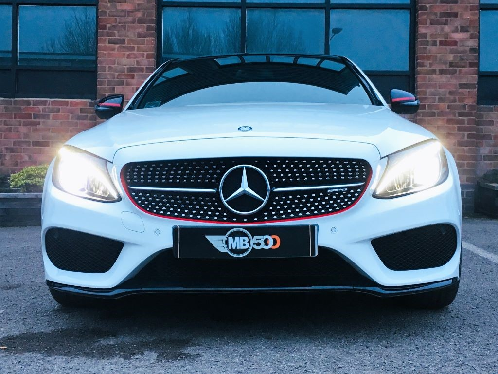 used white mercedes c43 amg for sale leicestershire. Black Bedroom Furniture Sets. Home Design Ideas