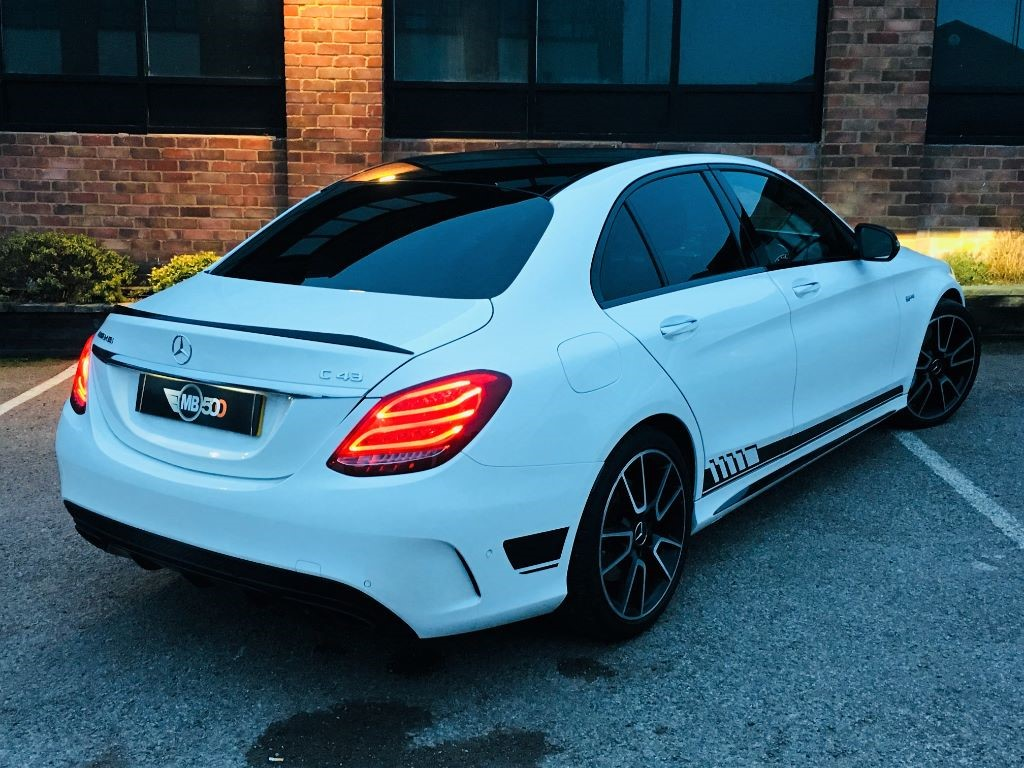 Used White Mercedes C43 AMG For Sale | Leicestershire