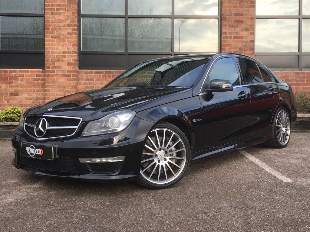 Used black mercedes c63 amg for sale leicestershire for Used mercedes benz c63